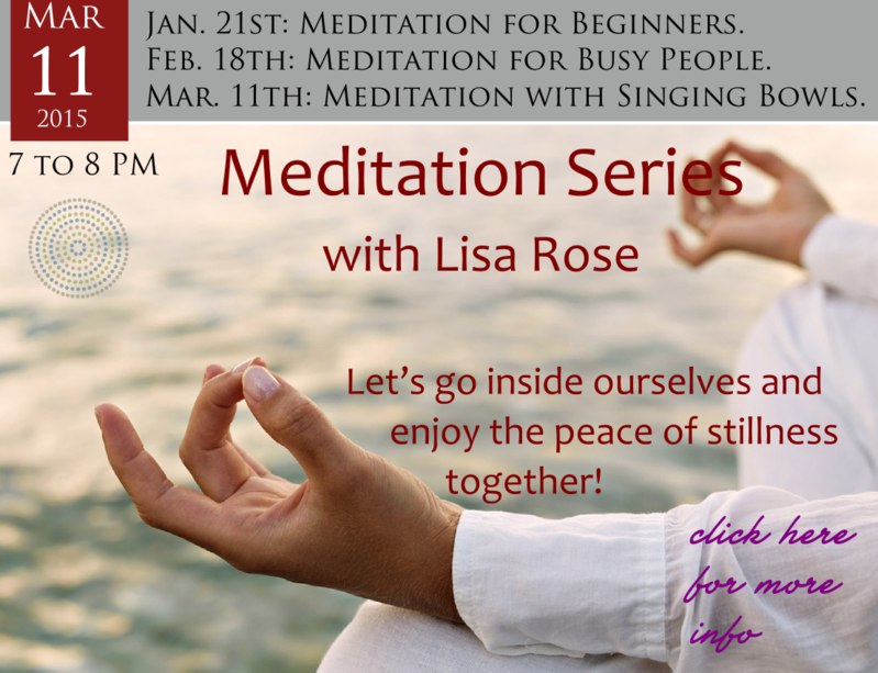 Meditation Series With Lisa Rose