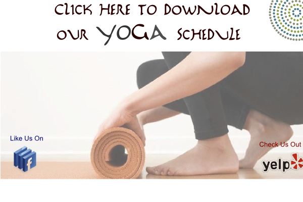 Our Yoga Schedule